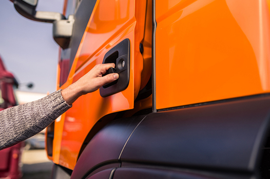 When Trucking Meets a Virus: Drivers' Health Guide